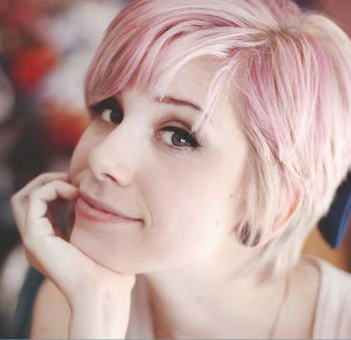 roze zlatna kosa