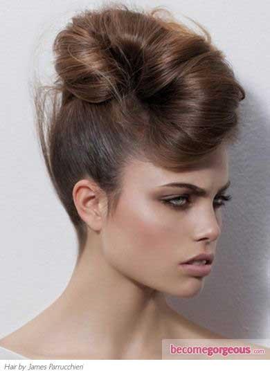 moderna podignuta frizura