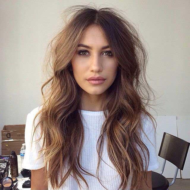 pramenovi na dugoj kosi