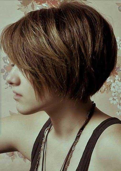 bob frizura na kratkoj kosi