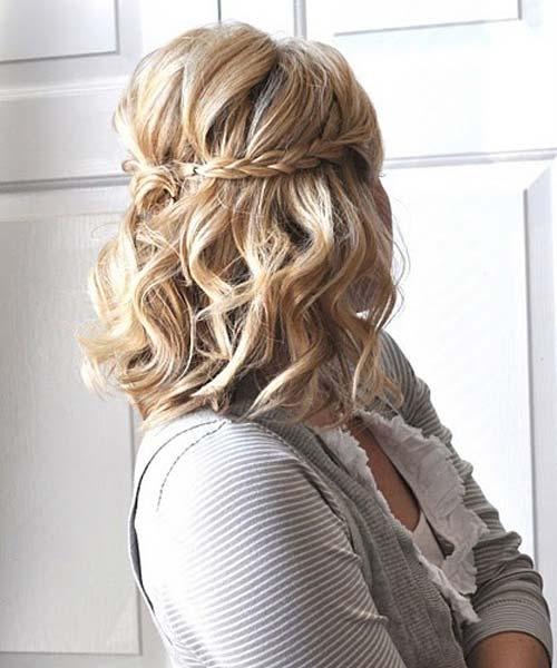 svecana frizura