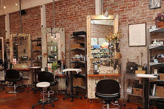 frizerski salon enterijer