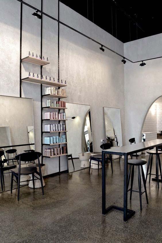 frizerski salon dizajn