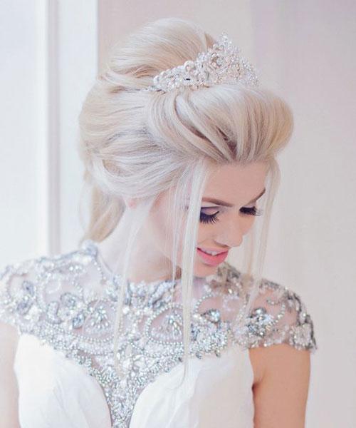 Visoka elegantno podignuta kosa