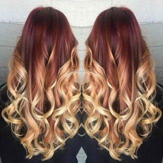 plava kosa
