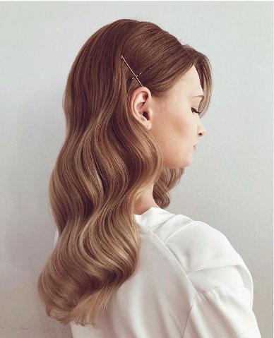 retro talasi na kosi
