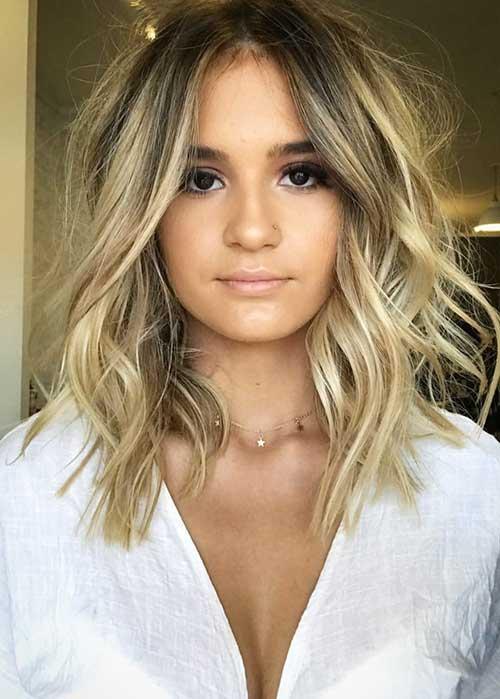 srednje duga kosa talasi