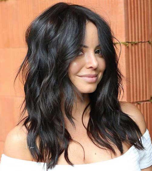 duža kosa - tamna kosa