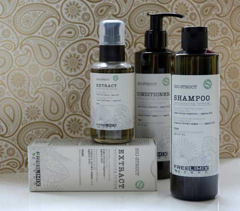 FREELIMIX Green Bio-Struct - Šampon bez parabena i sulfata