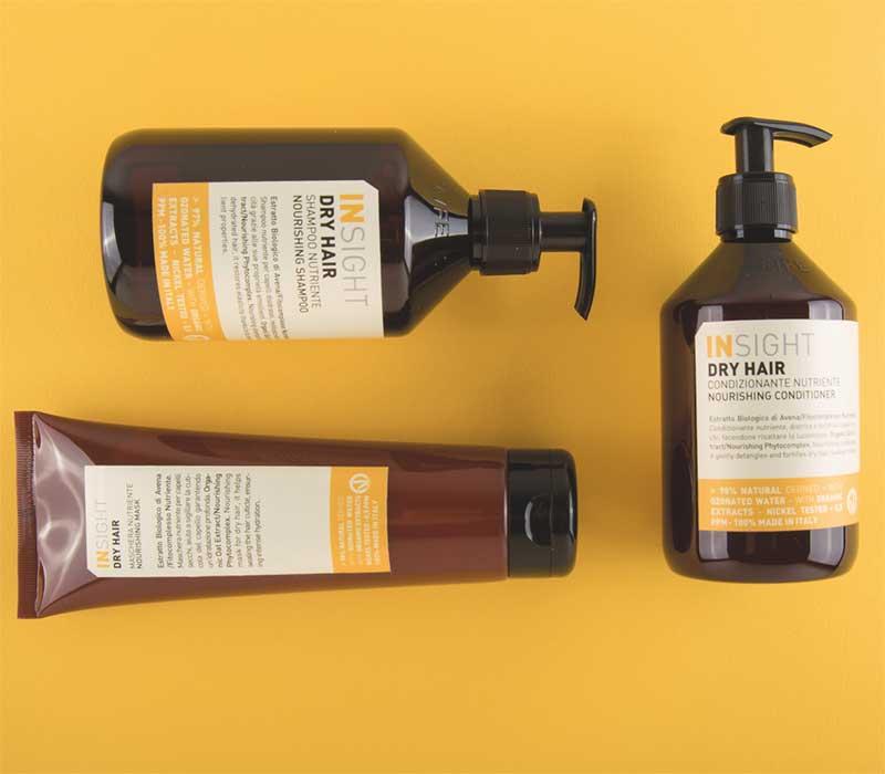 insight dry hair - šampon koji ne sadrži parabene, silikone, sulfate