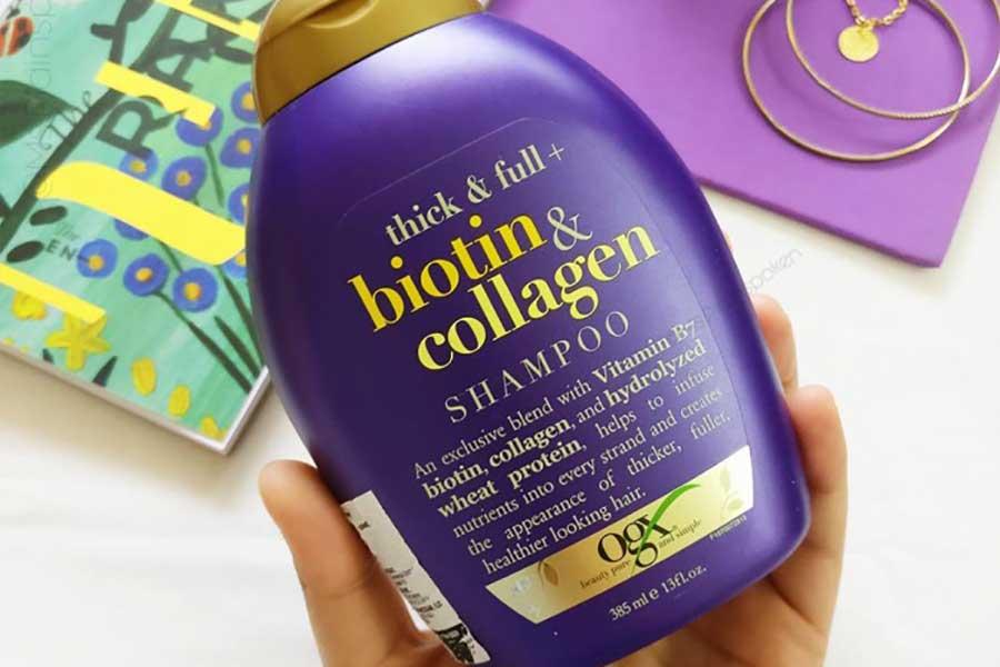 Organix šampon za kosu sa biotinom i kolagenom